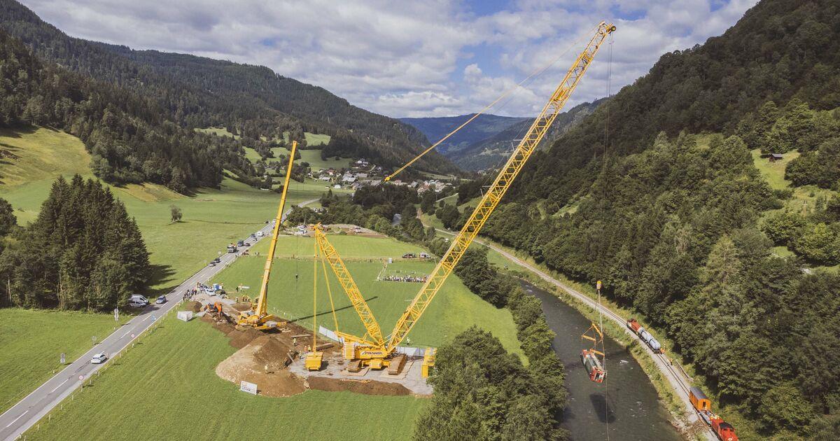 Ramingstein: Murtalbahn-Bergung abgeschlossen