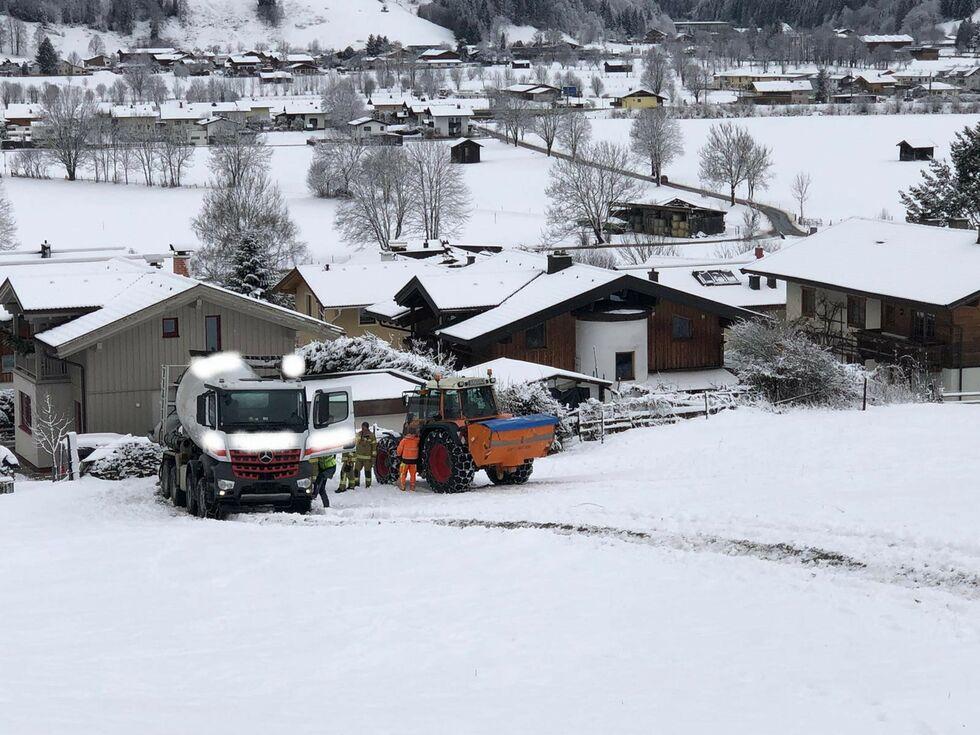 Maishofen: Brand bricht in Sauna aus - SALZBURG24