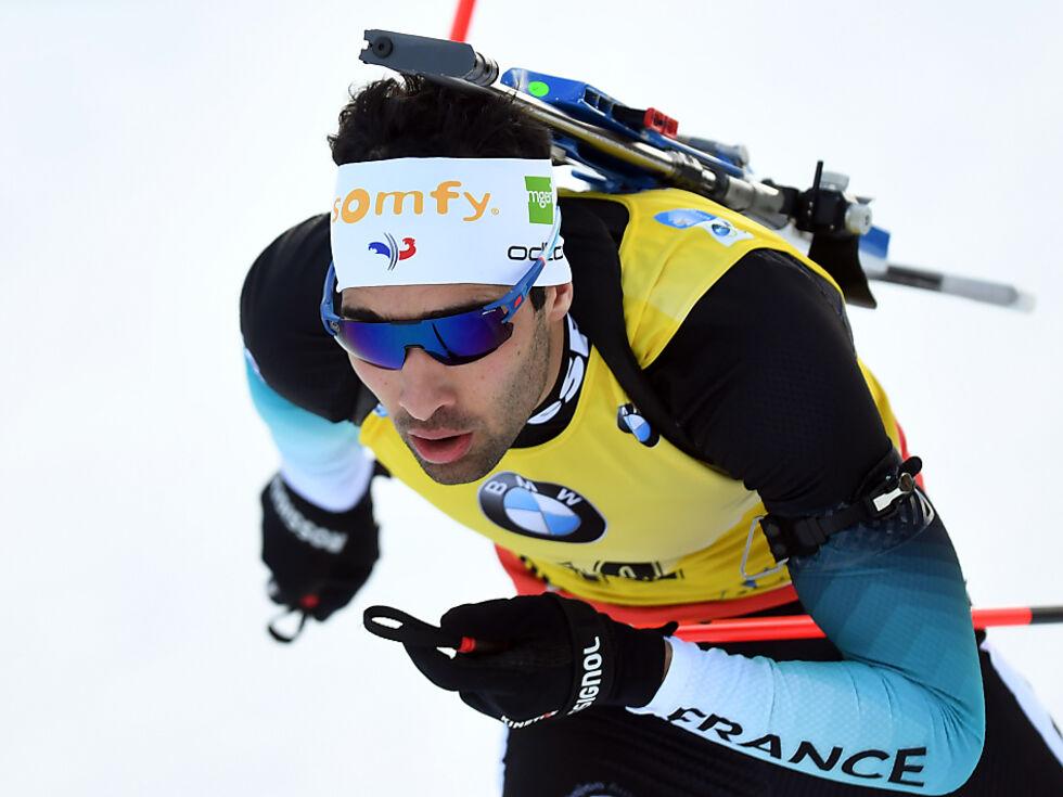 Fourcade gewinnt Biathlon-Verfolgung