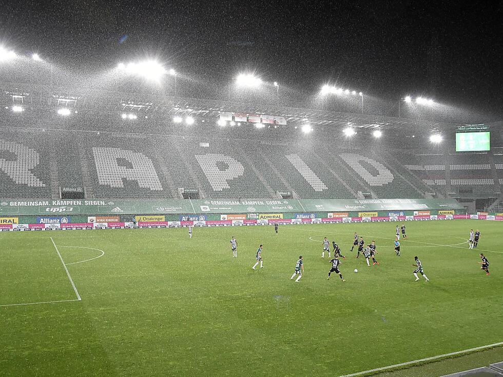 Rapid Wien bricht Trainingslager ab