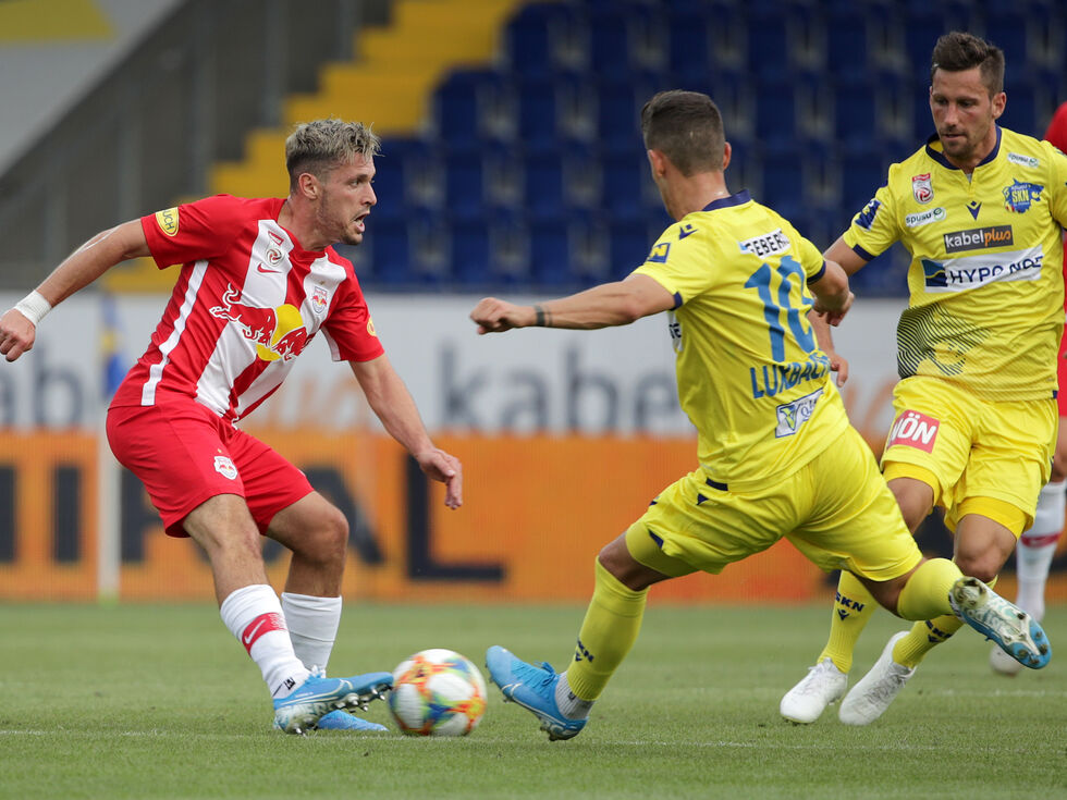Salzburg startet Endspurt gegen St. Pölten