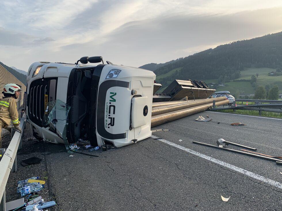 Unfall B96 Gestern