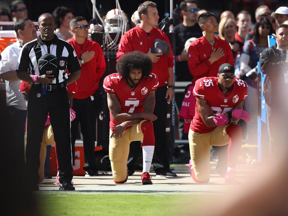 Sportler nützen Bühne für politische Botschaften