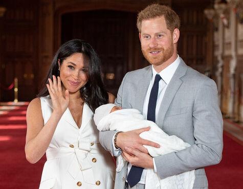 Royals Kleiner Archie Wird Getauft ärger Beim