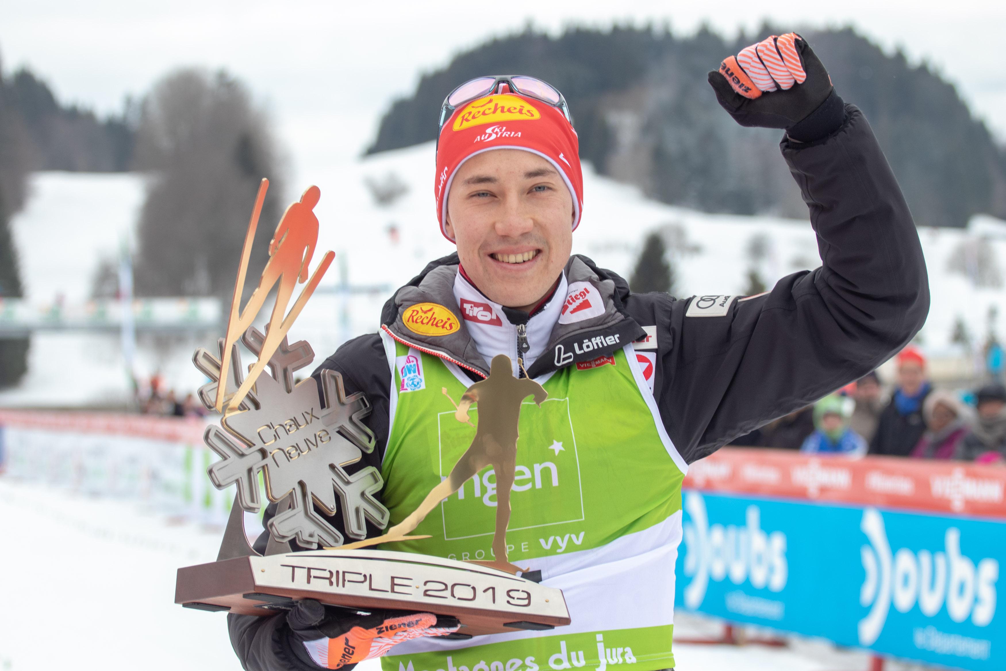 Mario Seidl visiert WM-Medaille an