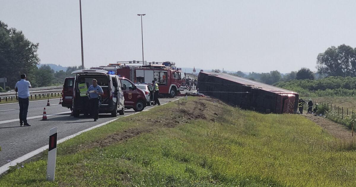 Busunfall in Kroatien fordert zehn Tote und 45 Verletzte