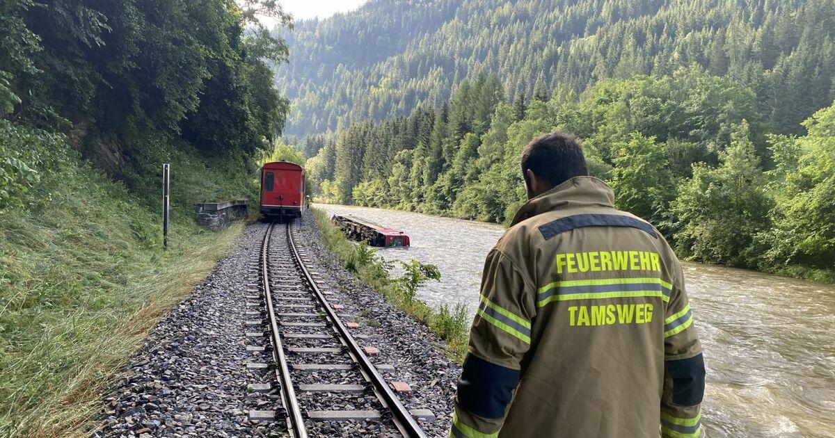 Murtalbahn nimmt Betrieb am Montag wieder auf