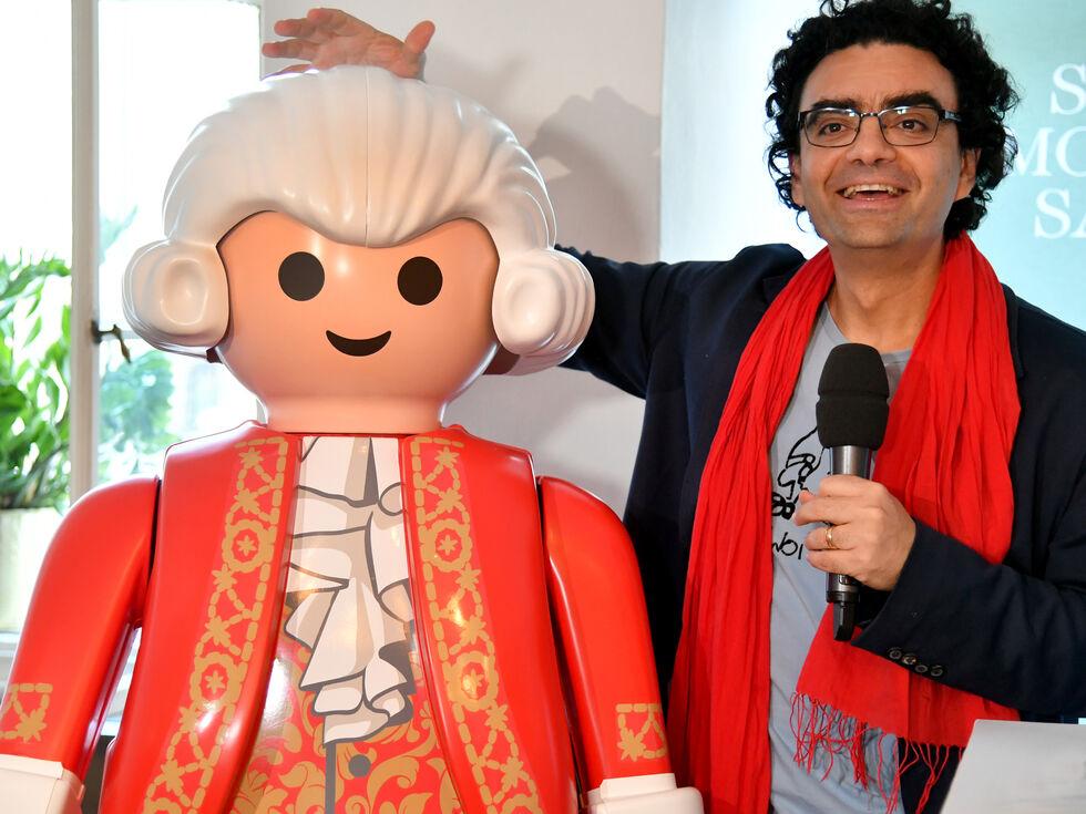 Playmobilfigur Wolfgang Amadeus Mozart NEU und