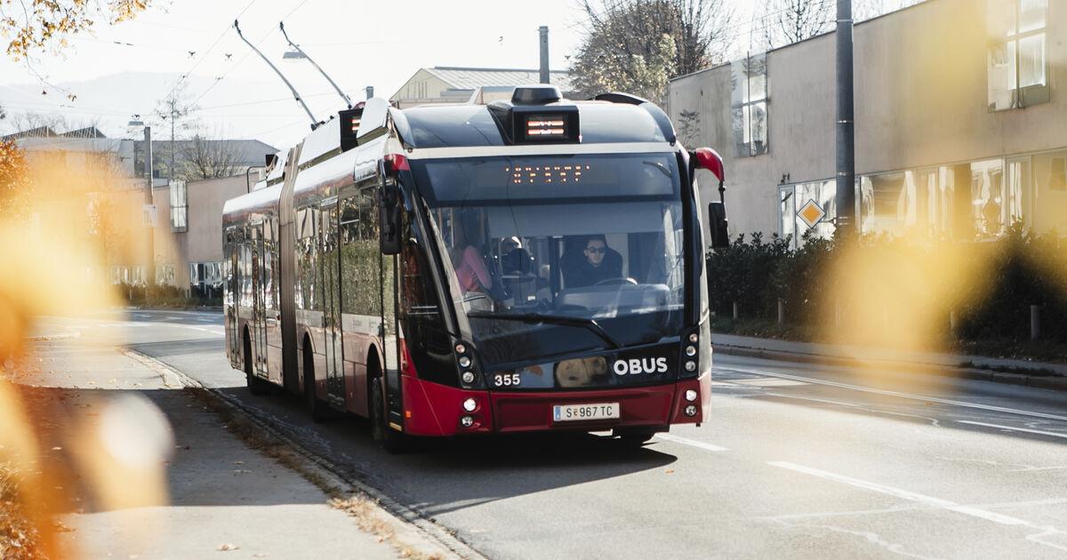 Obus Linie 2 Salzburg