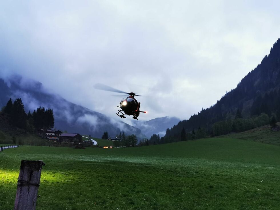 Verletzter bei Forstunfall in Rauris - SALZBURG24