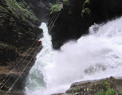 Klettersteig Zell Am See : Tourentipp: möllschlucht klettersteig bei heiligenblut am