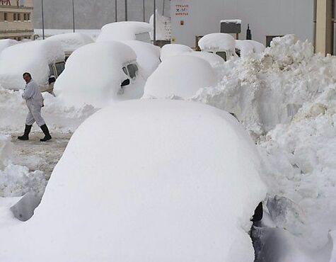 Spanien Leidet Unter Schnee Und Kaltewelle Salzburg24