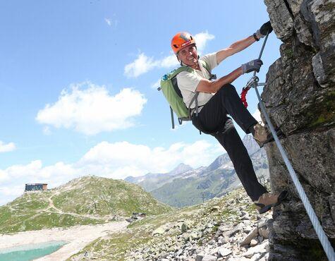 Klettersteig Zell Am See : Kronprinz rudolf bekommt u201eseinenu201c klettersteig am weißsee salzburg24