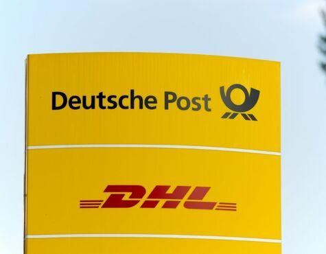 Deutsche Post Express Brief Zustellung Briefzustellung Briefe