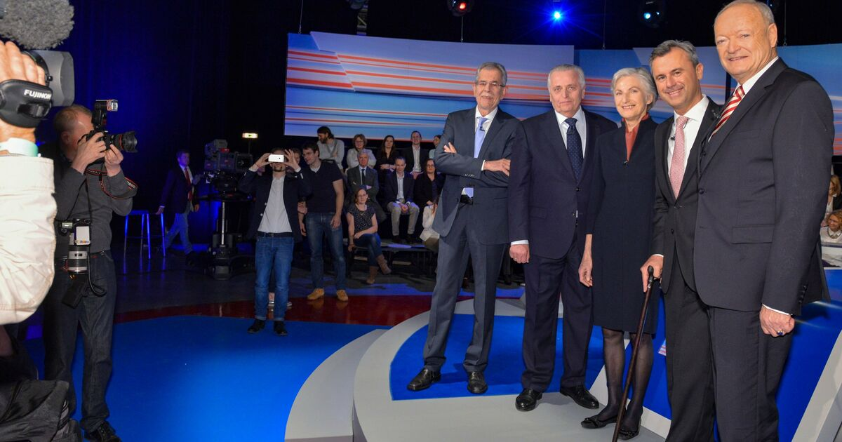 Kandidaten Bundespräsidentenwahl