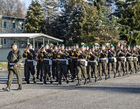 100 Rekruten In Salzburg Angelobt Salzburg24