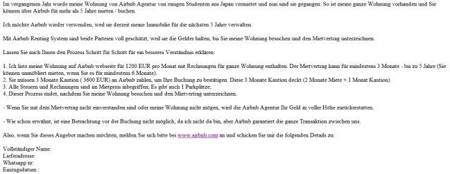 Betrugsmasche Mit Airbnb Auf Immo Portalen Salzburg24